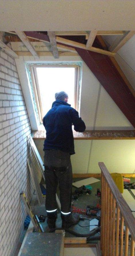 Realiseren zolderverdieping – Klussenbedrijf Sjouke Koster